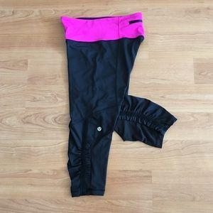 Lululemon Run for your life Cropped leggings